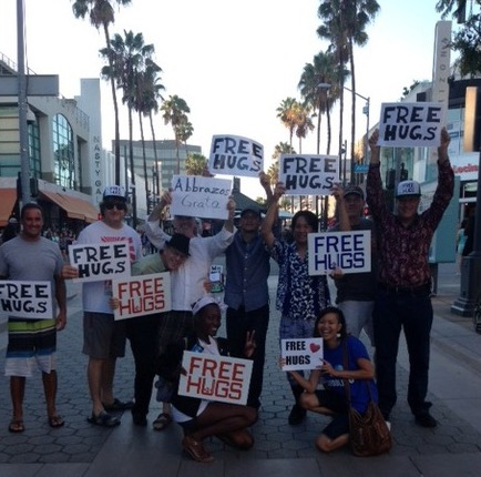 How to Organize a Free Hugs Event (video)