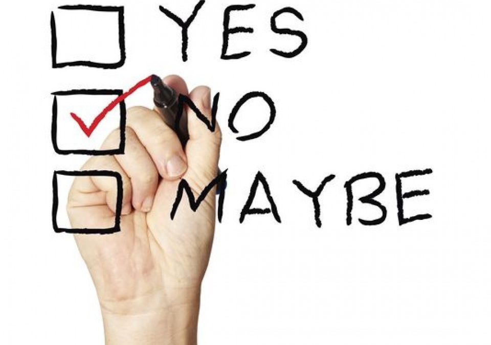 "3 Ways to Get Better at Saying ""No"""